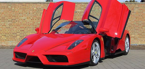 This Ferrari Enzo is available for hire anywhere in UK.