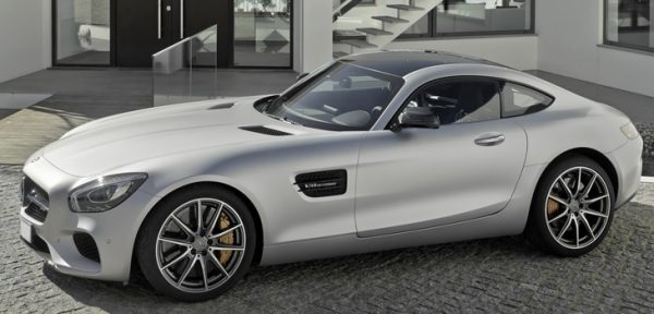 This Mercedes AMG GTS is available for hire anywhere in UK.