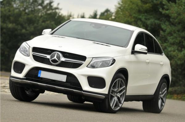 This Mercedes GLE is available for hire anywhere in UK.