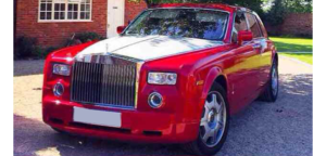 This Rolls Royce Phantom is available for hire anywhere in UK.