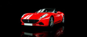 This Ferrari California T1 is available for hire anywhere in UK.