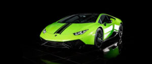 This Lamborghini Huracan is available for hire anywhere in UK.