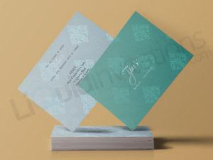 Pakistani and Indian Invitation Wedding Cards UK
