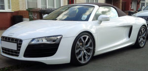 Hire this Audi R8 for anywhere in UK.