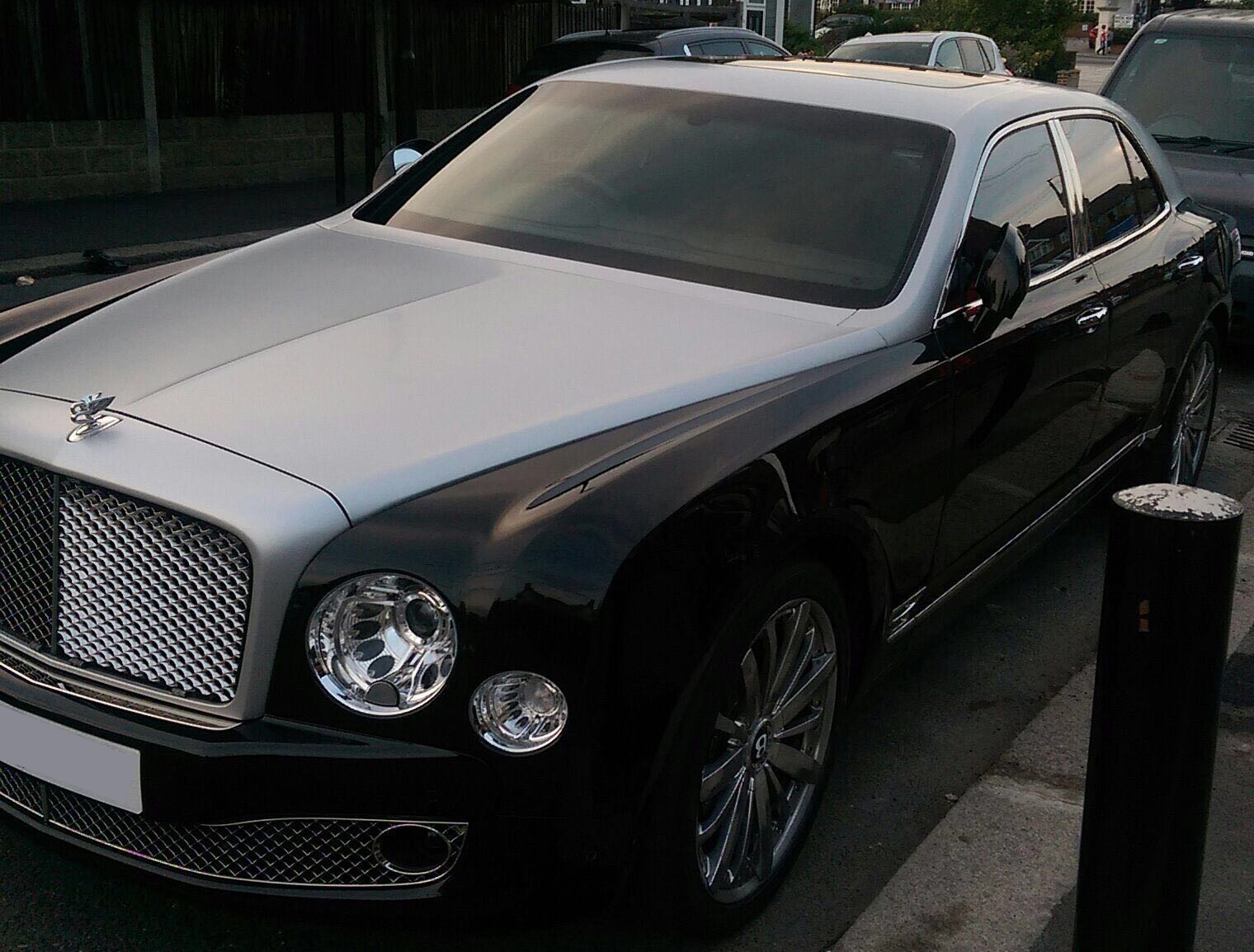 This Bentley Mulsanne is available for hire anywhere in UK.