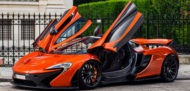This McLaren P1 is available for hire anywhere in UK.