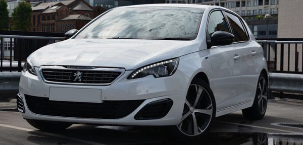 This Peugeot GT is available for hire anywhere in UK.