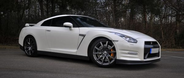 This Nissan GTR850 is available for hire anywhere in UK.