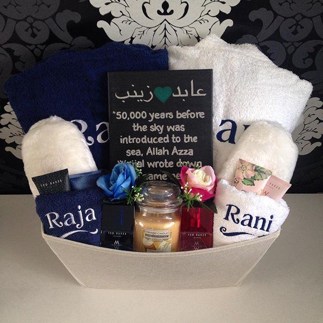 hamper_licious personalised muslim wedding gift